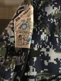 Billionaire boys club jacket camo digi rifle japan Large L space ice cream bbc