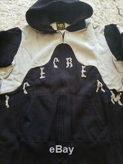 Brand New Icecream/bbc Black/grey Marilynn Monroe Hoodie Men's L