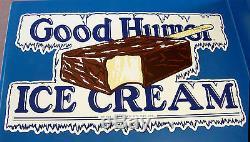 CLASSIC GOOD HUMOR Ice Cream Bar Decal / Sticker LARGE, DIE CUT, RARE