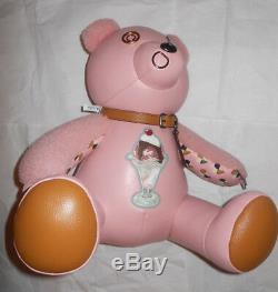 COACH Pink Ice Cream Sundae 15 Bear Star new