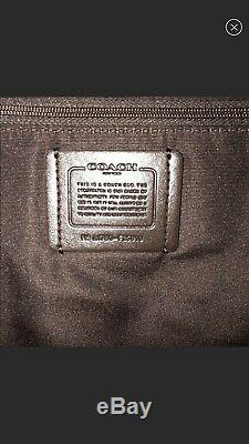 Coach F25910 Charlie Leather Backpack American Dreaming Motif Ice Cream Bag new