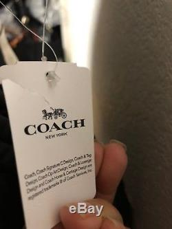 Coach F25910 Charlie Leather Backpack American Dreaming Motif Ice Cream Tote