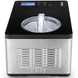 Costway Ice Cream Maker Automatic Stainless Steel Electric Countertop Large with