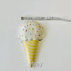 Coton Colors Happy Everything Large 3D Ice Cream Attachment RARE