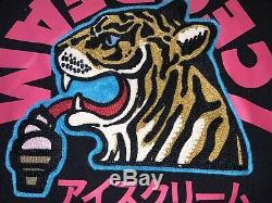 DS NWT IceCream BAPE BBC Billionaire Boys Club IC Tiger Hoodie Sz L FW18