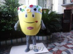 Drink Parade Adversting Ice Cream Cup Mascot Costumes Restaurant Cosplay Outfits