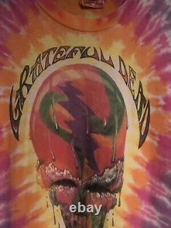 Grateful Dead Shirt Shirt Vintage 1990 Chicago Ice Cream Brent Mydland GDM Large