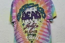 Grateful Dead Shirt T Shirt Vintage 1990 Chicago Ice Cream Brent Mydland size L