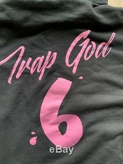 Gucci Mane Ice Cream Brr Hoodie Size L Merch Coachella Authentic Champion Trap