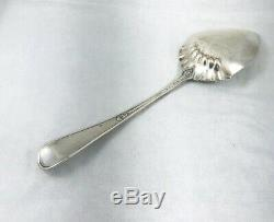 Hindostanee by Gorham Sterling Large Bright Cut Ice Cream Serving Spoon-8 5/8