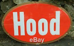 Hood Milk Ice Cream Dairy Metal Sign LARGE