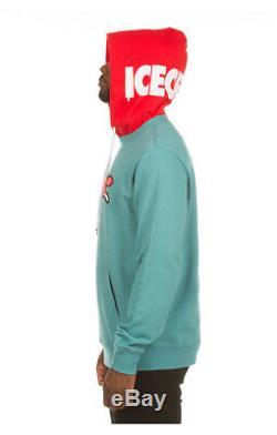 ICECREAM Koston Hoodie 401-2300 Teal Pullover 2020 BBC Brand New