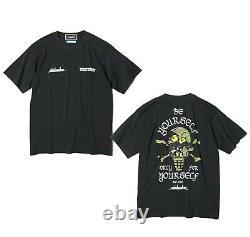ICECREAM x mindseeker CONE & BONE Men's S/S Tee Black From Japan New