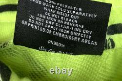 ICE CREAM Billionaire Boys Club Lime Green Running Dogs Logo Sweat Shorts Mens L