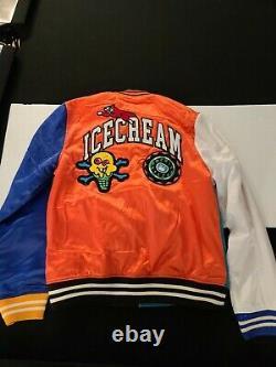 Ice Cream Stadium Jacket Size L Mens Pharrell Billionaire Boys Club NEW