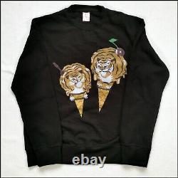 Ice Cream by Billionaire Boys Club sweatshirt Large Black Rare