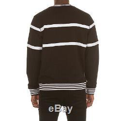 Icecream Elder Crewneck Sweatshirt in Beaujolais and Black 491-2301