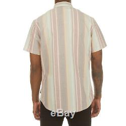 Icecream Slater Short Sleeve Woven Button Front Shirt in Multi 491-3600