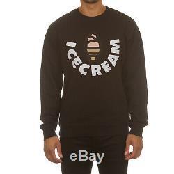 Icecream Vanilla Crew Neck Sweatshirt in 4 Color Choices 491-1307