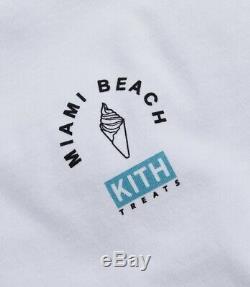 KITH Treats Ice Cream Day 2020 Miami T-Shirt PRE-ORDER Mens Sz Large SO