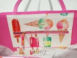 Kate Spade NWOT Ice Cream Popsicle Handbag