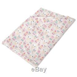 Kawaii Icecream Fleece Blanket Baby Soft Faux Fur Throw