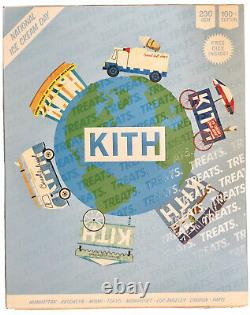 Kith Treats California Ice Cream Cart Tee White Sz Large Kh030105-101 Brand New
