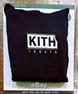 Kith Treats Ice Cream Sandwich Hoodie (Black, Large)