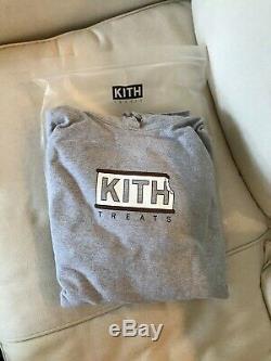 Kith Treats Ice Cream Sandwich Hoodie Gray 2XL