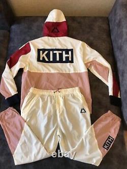 Kith gel lyte V Volcano Madison Tracksuit (windbreaker & pants)