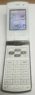 LG KF350 Ice Cream Blue 3MP FM A2DP LED Lighting Unlocked GSM 2G Flip Cell Phone