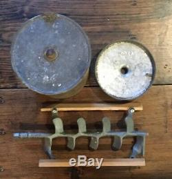 Large 12 Quart Antique Amish-Made Hand-Crank Ice Cream Maker /Freezer