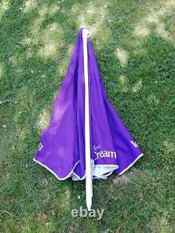 Large 6ft Cadburys Ice Cream Advertising Garden Table Umbrella Parasol Shade