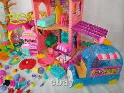 Large Enchantimals Mixed Bundle 22 Dolls, 2 Houses and Ice Cream Van