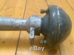 Large Vintage Clarion Metal Vehicle Horn from 1950's Ice Cream Van