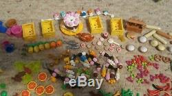 Lego Large Lot Food, Bananas, Apples, Pretzels, Hotdogs, Turkey, Bread, Ice Cream+++