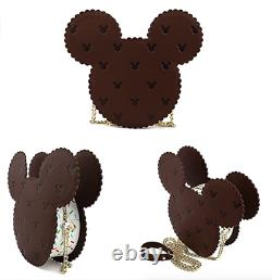 Loungefly Disney Mickey Mouse Ice Cream Sandwich Crossbody Bag NEW In Package