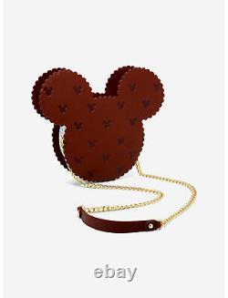 Loungefly Disney Mickey Mouse Ice Cream Sandwich Sweet Treats Crossbody BAG NEW