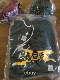 NWT BBC Billionaire Boys Club Ice Cream Running Dog Logo Hoodie (Size Large)
