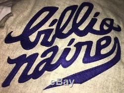NWT Bape Billionaire Boys Club Ice Cream Zip Up Baseball Jersey Sz M/L MSRP $365