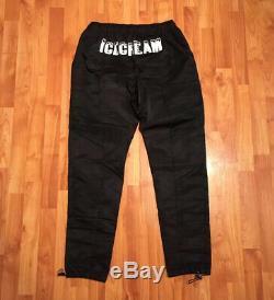 New Men's S M L Billionaire Boys Club Ice Cream Bb Cardiel Nylon Pant In Black