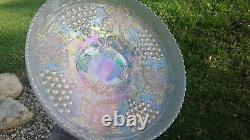 Northwood Large Grape And Cable Ice Cream Bowl White