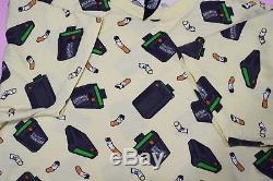 OG BBC Ice Cream Yellow Beepers Butts T Shirt Size Large Billionaire Boys Club