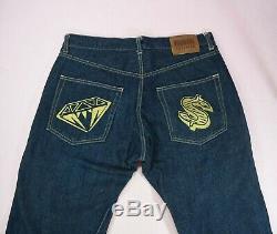 OG Diamond And Dollar Denim Jeans Billionaire Boys Club Size Large BBC Ice Cream