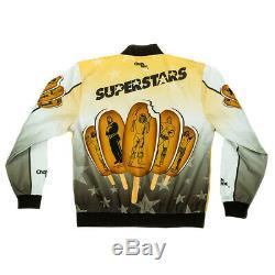 Official WWE Authentic Ice Cream Bar Vintage Fanimation Jacket