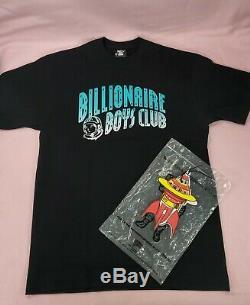 Og Billionaire Boys Club Gradient Arch Logo Black Tee Size Large BBC Ice Cream