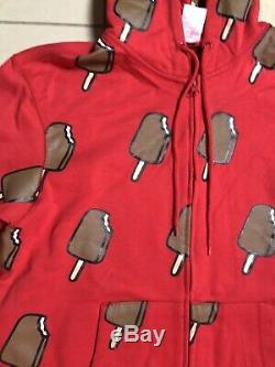 Original Ice Cream Billionaire Boys Club Bbc Red Hoodie Size Large