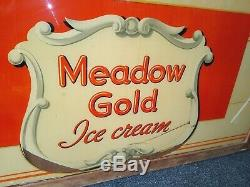 Original Large Historic Route 66 Diner Signmeadow Gold Ice Cream Rolla Mo