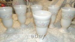 Pfaltzgraff Tea Rose (Vintage) (6) Large Ice Cream Sunday Servers