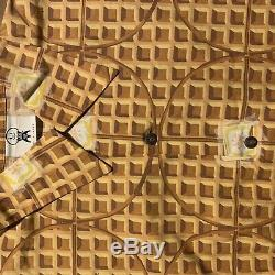 Rare Season 4 BBC Ice Cream Waffle Print T Shirt Size Large Nigo Pharrell